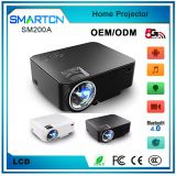 New Arrival Best SM200A Miracast /Airplay Mini Projector Led Beamer lcd Projector With USB HDMI Native 800 x 480 Home Pr