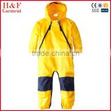 Durable lightweight baby waterproof jackets rain and dirt wear coveralls
