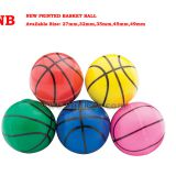 NEW printing bouncy ball, basketball, promotion item, innovation toy