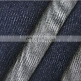 4 way stretch knitted indigo denim fabric for sexy jeans