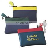 Cheap fashion promotional key holder wallet coin purse