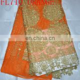 latest fashion African lace fabrics wholesale/retail(FL710)high quality/best price/in stock/popular/fashion/prompt delivery