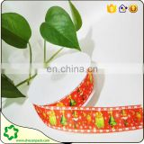SHECAN wholesale colored grosgrain ribbon printed cow