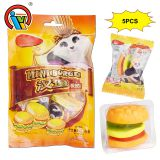 Family Pack Hamburger Gummy Soft Jelly Candy