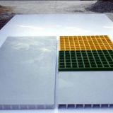 Molded glass fiber grating
