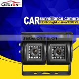 cctv camera system dual cam car rear view waterproof camera ccd backup camera