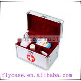 aluminum medical aluminum first aid kit tool box for storage