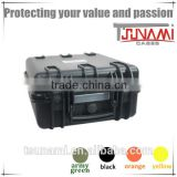 China waterproof storage case hard heavy duty storage box for audio visual equipment