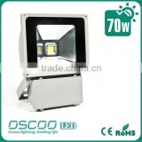 Shenzhen outdoor energy saving IP 65 classical light housing led flood lights 70w