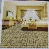US polypropylene loop pile carpet upscale hotels carpet living room bedroom office custom stitching