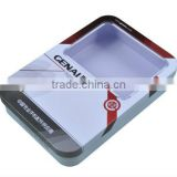 tin packing box for battery or bluetooth earphone