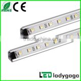 U-shape & V-shape High Brightness Aluminium Bar LED Rigid Strip / LED Rigid Bar high power led rigid strip