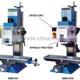 16mm 400x120mm Small Table Size Variable Speed Milling and Drilling Machine,Mini Milling Machine, Hobby Milling Machine