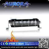 Factory direct sell waterproof IP69K,IP68 Aurora single 6'' led off road light bar