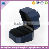 Luxury handmade paper jewelry box/custom jewelry box/jewelry packaging box with ribbon closure