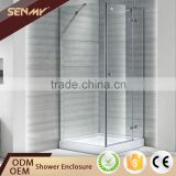 High Quality Frameless Tempered Glass Shower Cubicles Enclosure Sri Lanka With Tray Parts
