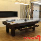 TBM-US-48 high quality American style billiard table billiard dining table