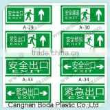 polypropylene corflute sign,yard sign, plastic sheet