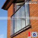 closed balcony glass for sale