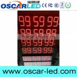 OSCARLED cheap price high quality 9'' 6 digits time clock led sign                                                                                                         Supplier's Choice