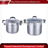 China Manufacturing Cookware Professional Stainless Steel Pasta Pot