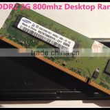 Original and New Brand DDR2 2G 667/800mhz desktop ram