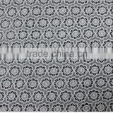 2015 lastest non-stretch laceemboidery lace fabric for underwear, women's clothing, strimming