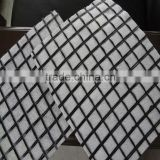 warp-knitting woven geogrid geotextile for gravel stabilization