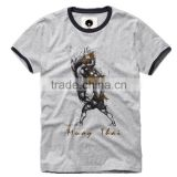 High quality Fctory price anti-pilling shrink muay thai t shirts/boxing t shirts/mma shirts