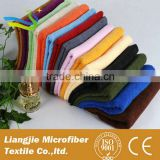 2015 china manufactor direct sale microfiber 80% polyester 20% polyamide one side ultra absorbent coral fleece fabric roll