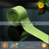 Wide elastic band for corset busk