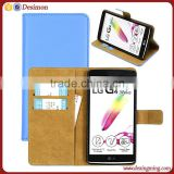 Luxury Premium Wallet Leather Case Flip Case Cover Leather Case For LG G4 Note / G Stylo / G4 Stylus LS77