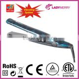 Factory Direct Universal Voltage 230C/450F Tourmaline Ceramic hair straightener for curling CE Rohs CETLus CTUVus