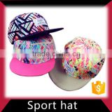Factory direct supply Customize sport blank snapback cap
