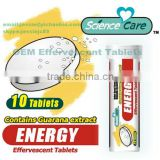 Guarana Energy Effervescent Tablet