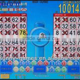 BINGO MANIA Slot Game Board