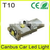 Vans white canbus error free interior car light, T10 led car light for toyota crown royal saloon