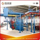 Q38 Catenary Type Shot Blasting machine used for shot blasting and strengthen of casting or forging Made in China