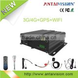 HDD mobile DVR with 3G wifi GPS with free CMS software H.264 3G wifi GPS video recorder for Truck Taxi