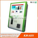 17'' Lobby Touch Screen Wall Mounted Computer Kiosk