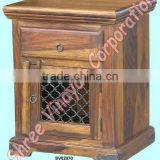 wooden nightstands,bedroom furniture,side table,bedside cabinet,sheesham wood furniture,acacia wood furniture