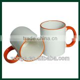 11oz Ceramic Two Tone Mugs for Sublimation