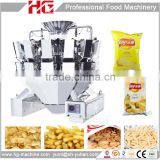 HG 520/420 model automatic weighing potato chips packaging machine with filling nitrogen device optional