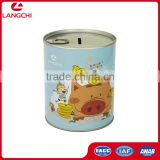 Round Money Box, Easy Open Lid Design Custom Money Tin Box                                                                         Quality Choice                                                                     Supplier's Choice