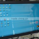 32 inch frameless resistive touch screen TFT-LCD monitor