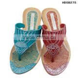 Alibaba china 2015 newest flower flip flop sandal factory low price summer flip flop cheap comfortable women EVA flip flops