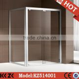 mini easy install stainless steel square shower room for sauna