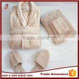 100% cotton terry towel slipper towel fabric for bathrobe