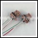 new product 7443 Bulb Socket Brake Turn Signal Light Harness Wire LED Pig Tail Plug 7440 T20 for auto parts