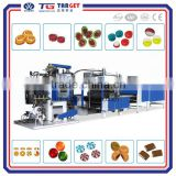 Factory price and high quality lollipop forming depositing whole line hard candy machine